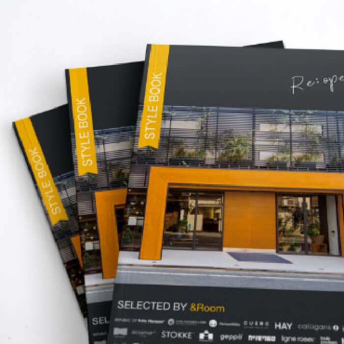 パンフレット・冊子デザイン イメージ